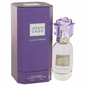 L'eau De Amethyste for Women by Joan Vass Eau De Parfum Spray 1.7 oz