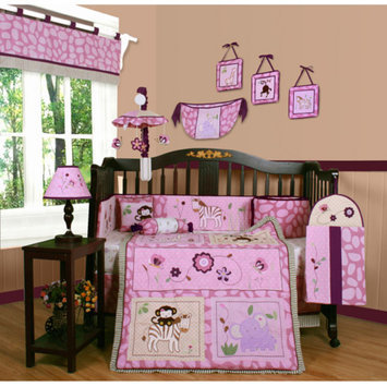 Geenny Boutique Animal Kingdom 13 Piece Crib Bedding Set
