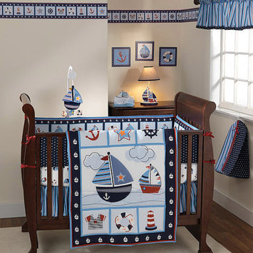 Lambs & Ivy Lambs and Ivy Sail Away 3 Pc Bedding Set