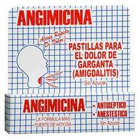 Angimicina Antiseptico Pastillas Throat Lozenges