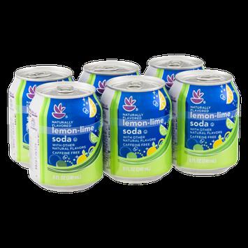Ahold Lemon-Lime Soda - 6 CT