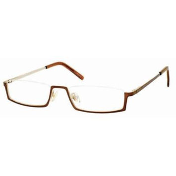 Woolrich 7803 in Brown Designer Reading Glass Frames ; Demo Lens