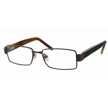 Woolrich 7821 in Brown Designer Reading Glass Frames ; Demo Lens