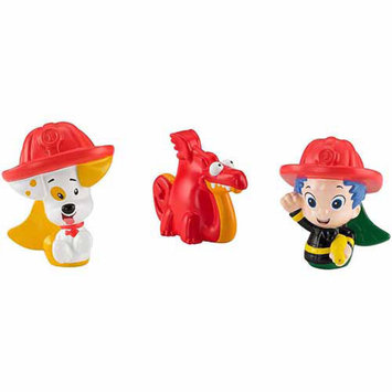 Fisher-Price Bubble Guppies Firefighters Gil, Bubble Puppy, Dragon