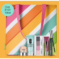 Clinique Summer 2014 Promotion Tote Bag + 5 Beauty Products ($100 Retail Value)