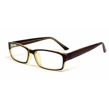 Soho 1005 in Brown Designer Reading Glass Frames ; Demo Lens