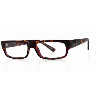 Soho 98 in Tortoise Designer Reading Glass Frames ; Demo Lens