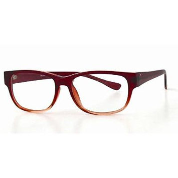 Soho 1007 in Burgundy Pink Designer Reading Glass Frames ; Demo Lens