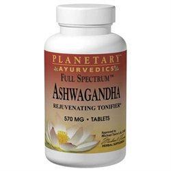 Planetary Herbals Ayurvedics Full Spectrum Ashwagandha - 570 mg - 60 Tablets