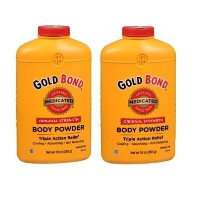 Gold Bond Medicated Powder 10-Ounce Containers Pack of 2