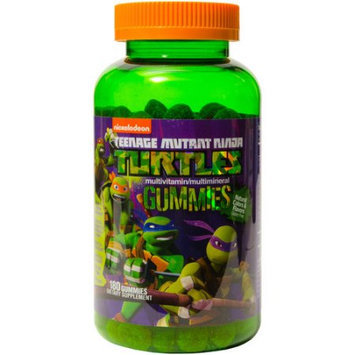 Nickelodeon Teenage Mutant Ninja Turtles Multivitamin/Multimineral Dietary Supplement Gummies, 180 count