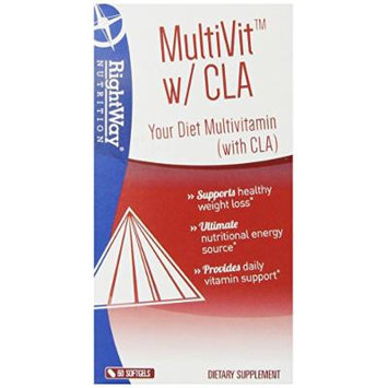 RightWay Nutrition Multivit Soft-Gels, 60 Count