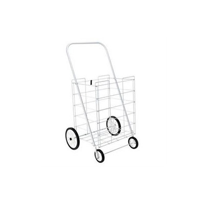 Home Products 4 Wheel Large Tote Cart White