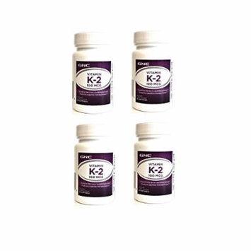 GNC Preventive Nutrition Vitamin K-2 60cts (4 bottles)