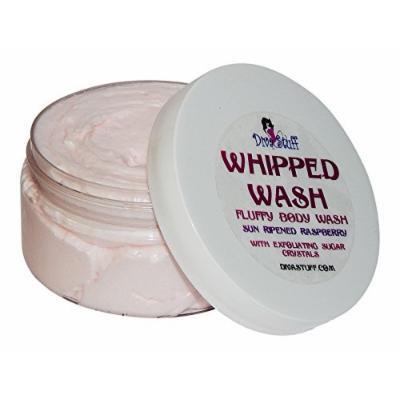 Diva Stuff Sun Ripened Raspberry Fluffy Body Soap with Exfoliating Sugar Crystals