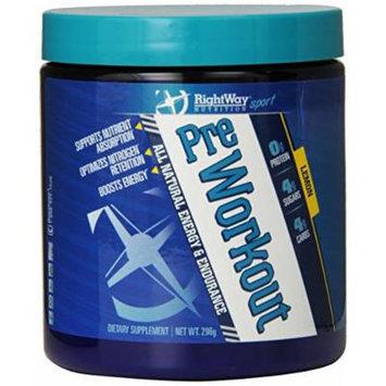 RightWay Nutrition Pre-Workout Supplement, 296 Gram