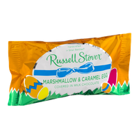 Russell Stover Marshmallow & Caramel Egg Covered in Milk Chocolate
