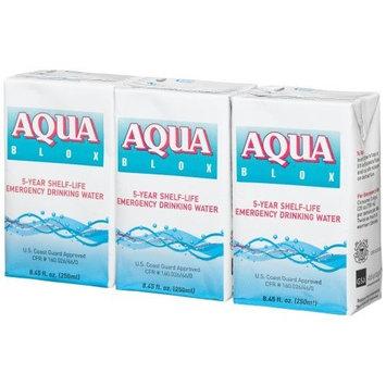 Aqua Blox 5-Year Shelf-Life Emergency Drinking Water, 8.45-Ounce Tetra Pack (Pack of 27)