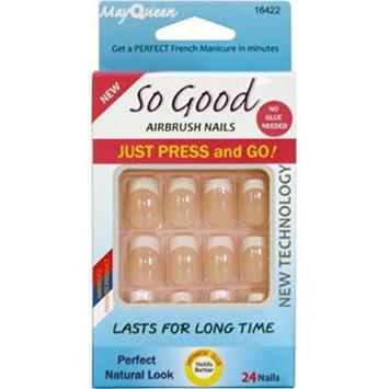 Kissable Artificial so Good Air Brush Nails Preglued 16422