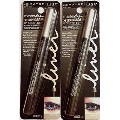 Pack of 2-Maybelline Master Drama Chromatic Eyeliner- 450 Silver Spice