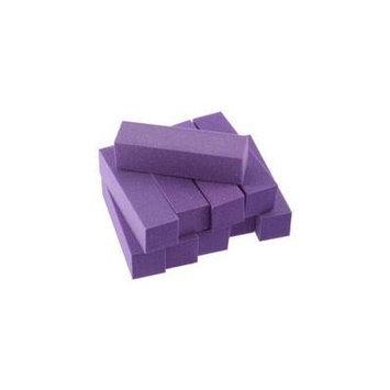 10 pcs Buffer Acrylic Nail Art Sanding Block Files purple
