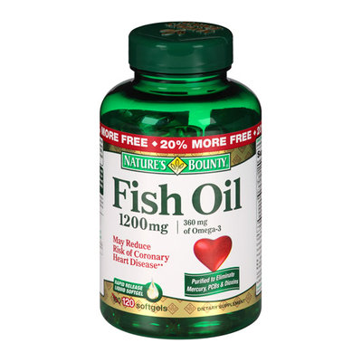 Nature's Bounty Fish Oil Softgels