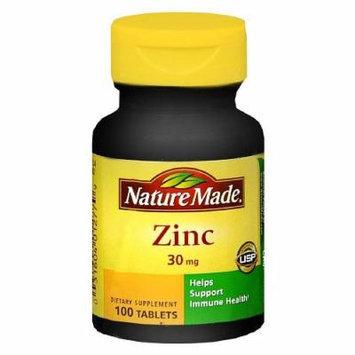 Nature Made Zinc, 30mg, Tablets 100 ea