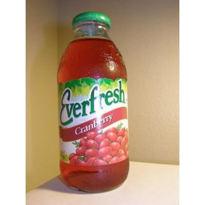 Everfresh: Cranberry Juice 16 Oz (12 Pack)
