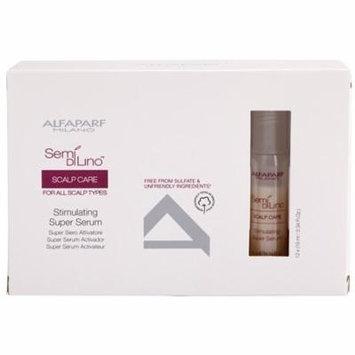 Alfaparf Semi Di Lino Scalp Care Stimulating Super Serum (For All Scalp Types) 12X10ml/0.34Oz