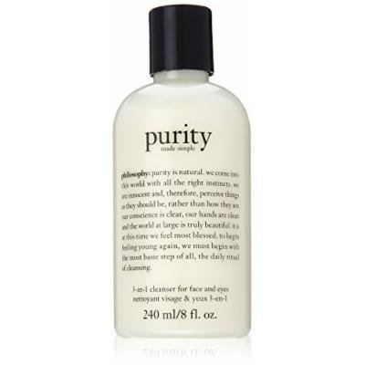 Philosophy Purity Made Simple 3-In-1 Cleanser For Face And Eyes 240Ml/8Oz by Philosophy