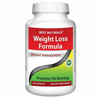 Best Naturals #1 Fat Burner Weight Loss Formula featuring 28 Natural ingredients which supports maximum weight loss*