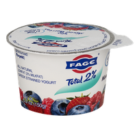 Fage Total 2% Greek Strained Yogurt with Mixed Berries