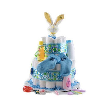 Design It Yourself Gift Baskets Its a Boy - Baby Diaper Cake