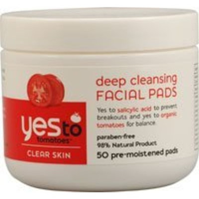 Yes To Tomatoes Clear Skin Deep Cleansing Facial Pads