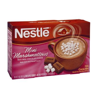 Nestlé Mini Marshmallows Chocolate Flavored Hot Cocoa Mix