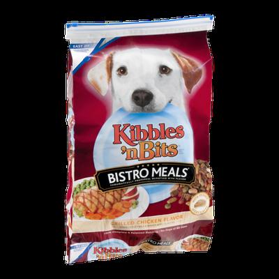 Kibbles 'n Bits Bistro Meals Dog Food Grilled Chicken