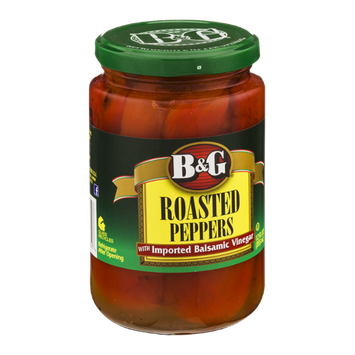 B&G Roasted Peppers with Imported Balsamic Vinegar