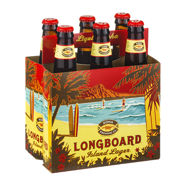 Kona Brewing Co. Longboard Island Lager - 6 CT