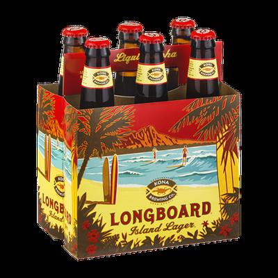 Kona Brewing Co. Longboard Island Lager - 6 CT