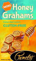 Pamela's Products GRAHAMS, HONEY, MINI, GF, (Pack of 6)