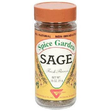 Spice Garden Sage, 0.75-Ounce Jar (Pack of 8)