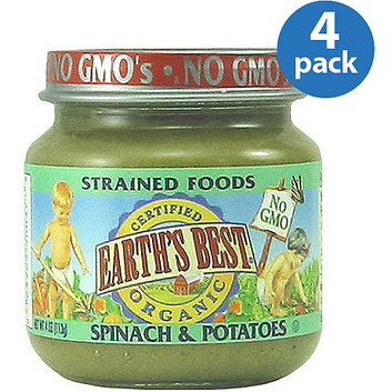 Earth's Best Organic Spinach & Potatoes Baby Food