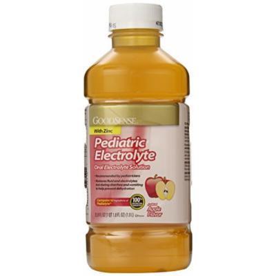 GoodSense Pedia Electrolyte Liquid, Apple, 33.8 Fluid Ounce (Pack of 6)