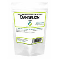 Dandelion Tablets 250mg - whole herb 60 capsules (Liver, detox)