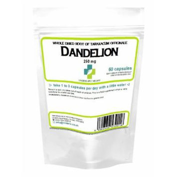 Dandelion Tablets 250mg - whole herb 60 capsules (Liver, detox)