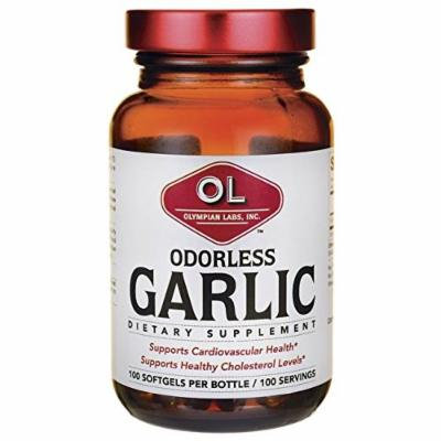 Olympian Labs Odorless Garlic 100 Sgels