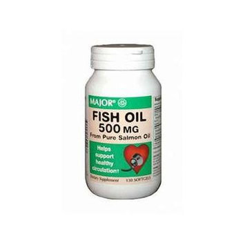 Fish Oil Gelcaps, 500mg, 130ct
