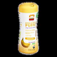 HappyBaby Organic Finger Food for Babies Banana Puffs