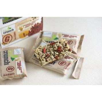 Body Engineering Inc. Raw Crunch Bars - Organic Goji Berry - Box 12 Bars