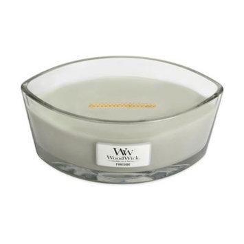 WoodWick Hearthwick Fireside Ellipse 16oz. Candle 16 oz, Grey